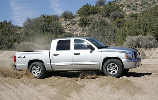 on 06 Dodge Dakota Quad