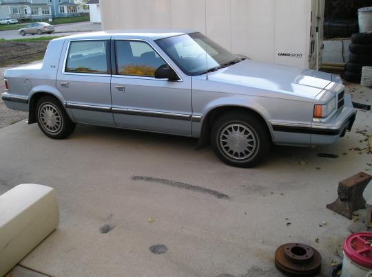 1991 Dodge Dynasty Vin 1b3xc46k0md255995 Wiring Photos Videos