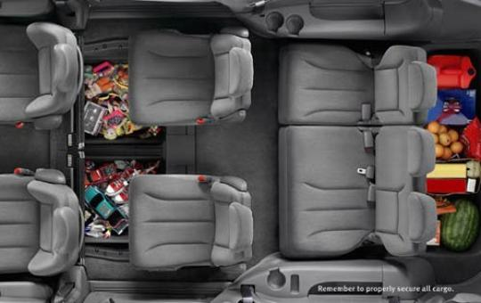on Dodge Grand Caravan Spare Tire Location