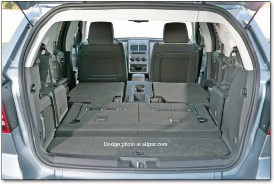 2010 Dodge Journey Interior Dimensions