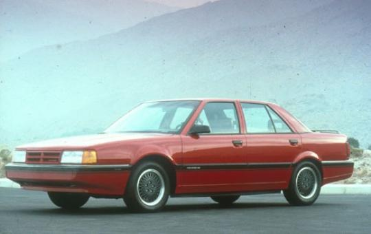 1990 Dodge Monaco exterior