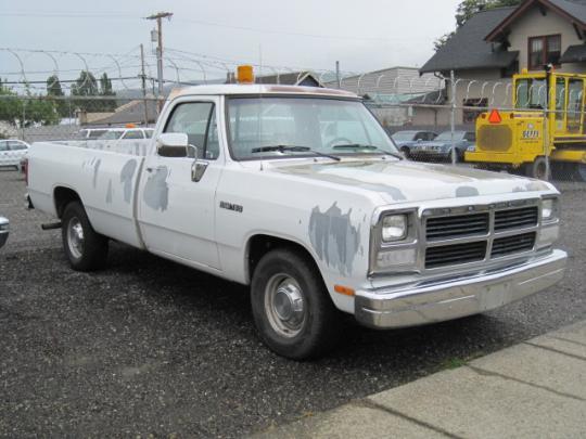 1992 Dodge RAM 150 - VIN: 1B7HM16Y4NS598003 - AutoDetective.com