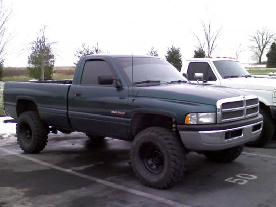 Dodge Ram Pickup  Long Bed Curb Weight