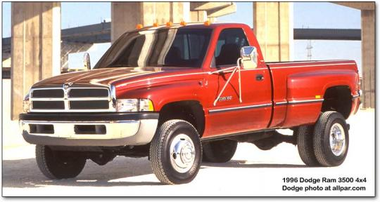 2001 Dodge Ram Pickup 3500 Vin 1b7mc33711j258123