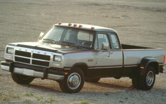 1993 Dodge Ram 350 exterior