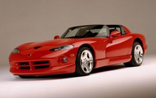 2002 Dodge Viper exterior