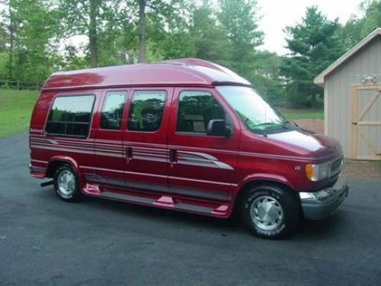 1997 Ford E-150 - Vin  1ftee1463vhb29984