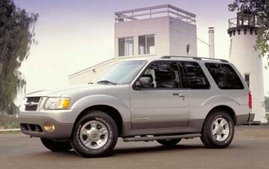 2003 Ford Explorer Sport exterior