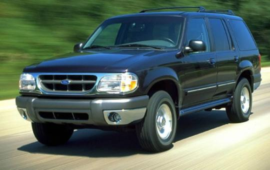 2000 Ford Explorer Sport 2-Door 2WD exterior