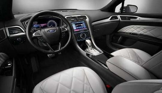 2017 Ford Fusion Se Interior Best New Cars For 2018