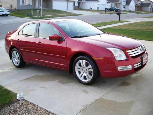 2007 Ford Fusion Vin Number