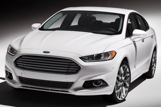 2017 Ford Fusion S Exterior