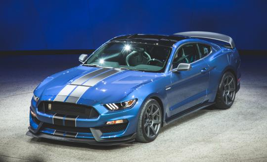 2016 Ford Shelby GT350 - VIN: 1FA6P8JZ1G5520373 ...