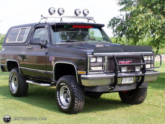 1990 GMC Jimmy 2-Door 4WD