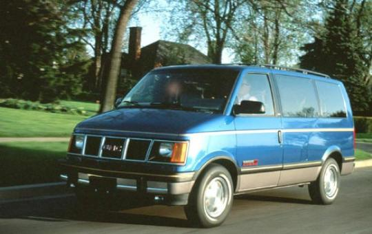 1993 GMC Safari exterior