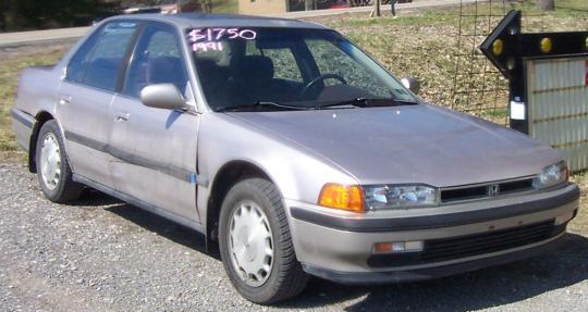 1991 Honda Accord - VIN: 1HGCB7651MA121463 - AutoDetective.com