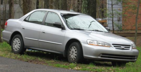 2002 Honda Accord Photo 1