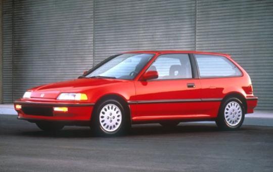 1990 Honda Civic exterior