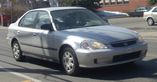 2000 Honda Civic Photo 1