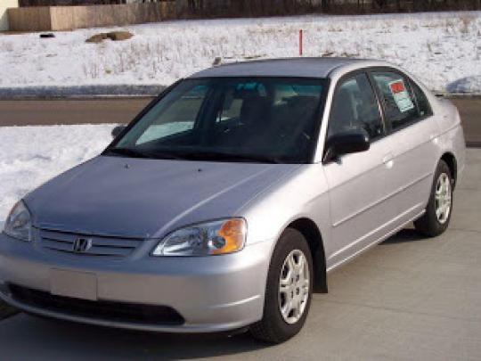 2002 Honda Civic Photo 1