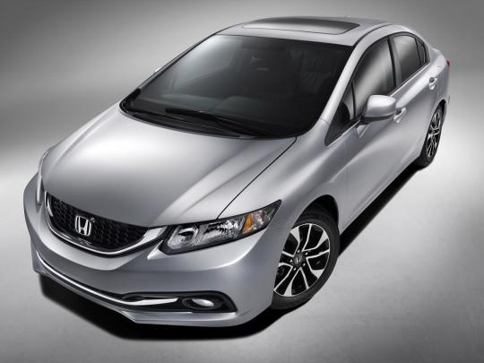 2013 Honda Civic LX Coupe 5-Speed MT Photo 1