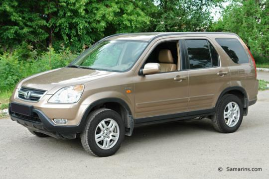 2002 Honda CR-V Photo 1