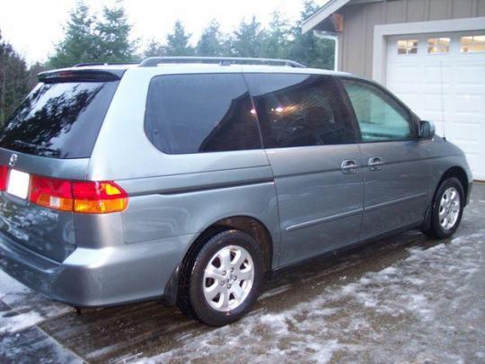 2002 Honda Odyssey - VIN: 2HKRL18522H553453 ...