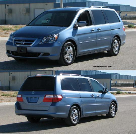 Honda Mini Vans: VIN: 5fnrl38746b073822