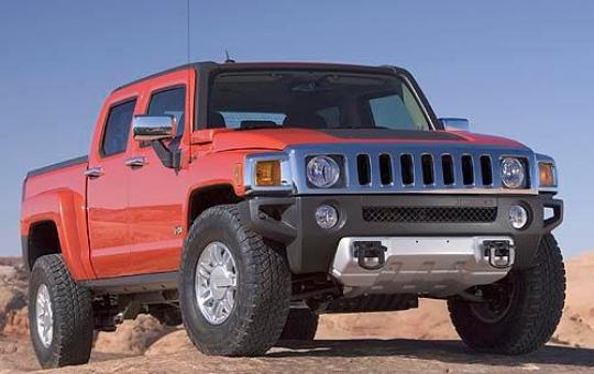 2009 Hummer H3T exterior