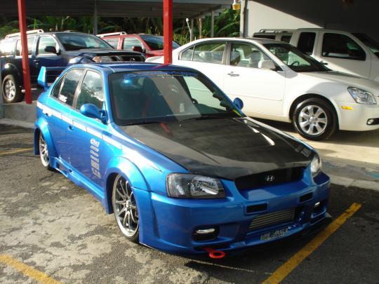 2001 Hyundai Accent - VIN: KMHCF35G91U155378 ...