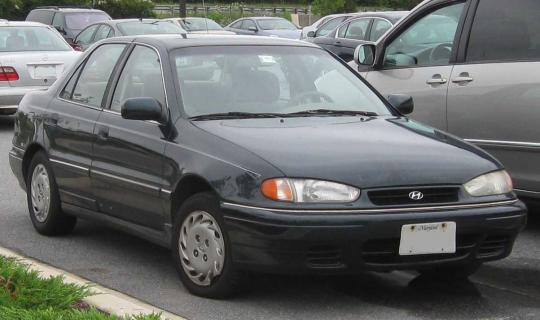 1995 Hyundai Elantra Photo 1