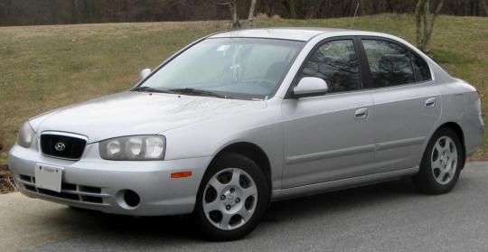2001 Hyundai Elantra Photo 1