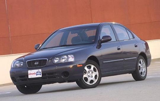 on 2002 Hyundai Elantra Fuel Lines