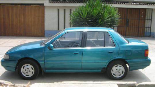 1994 Hyundai Excel Vin Kmhvd12j6ru308913