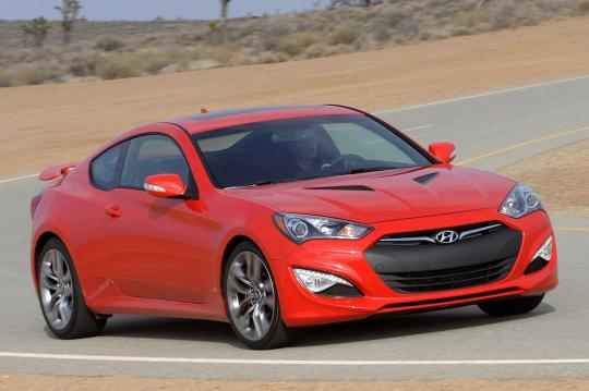 2016 Hyundai Genesis Coupe 3 8 6mt