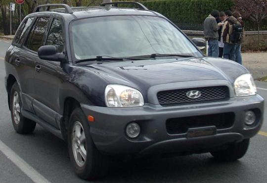 2001 Hyundai Santa Fe Vin Km8sc83d31u008936