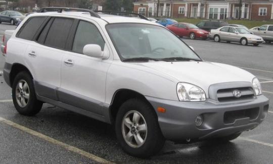 2001 Hyundai Santa Fe - VIN: KM8SC83D01U093668 - AutoDetective.com
