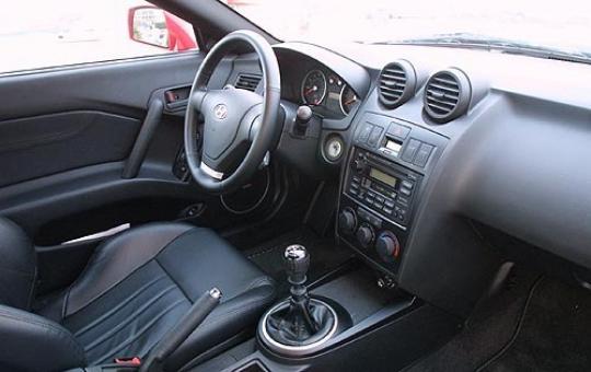 2003 Hyundai Tiburon Gt Interior
