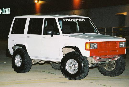 1991 Isuzu Trooper S