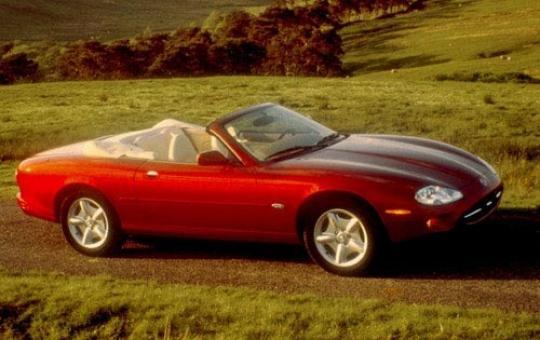 1997 Jaguar XK8 exterior