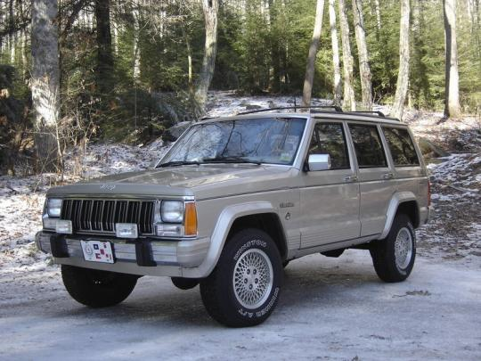 1993 jeep cherokee: