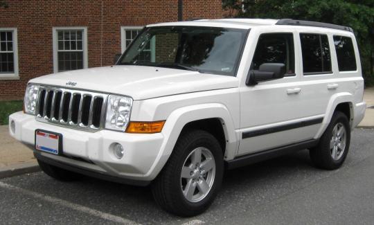 2008 Jeep Commander Photo 1