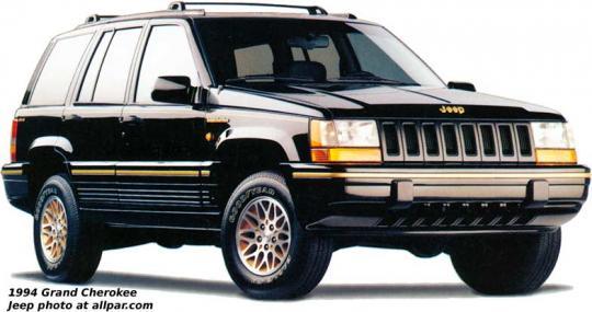 1994 Jeep Grand Cherokee Photo 1