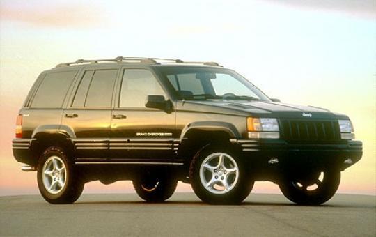 1995 Jeep Grand Cherokee exterior