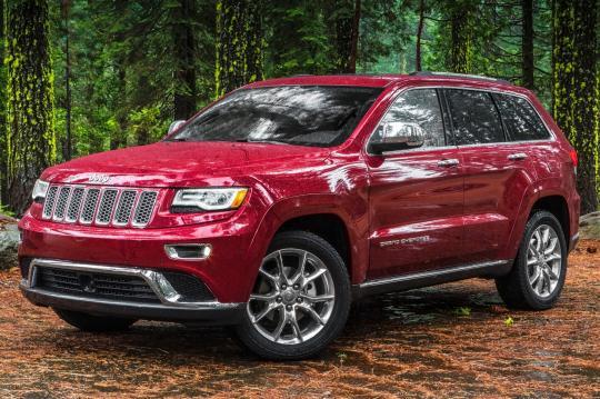 2014 Jeep Grand Cherokee exterior