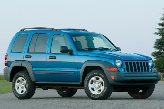 2007 Jeep Liberty exterior