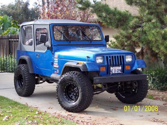 1993 Jeep Wrangler Vin 1j4fy19p6pp218934