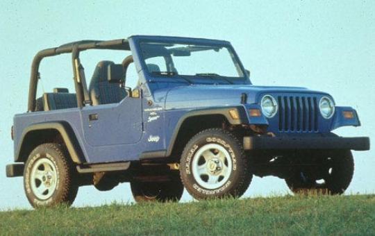 1997 Jeep Wrangler exterior