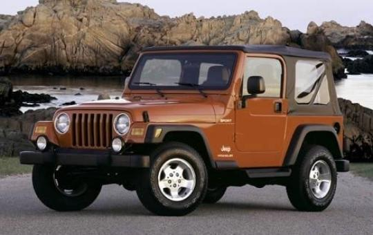 2003 Jeep Wrangler exterior