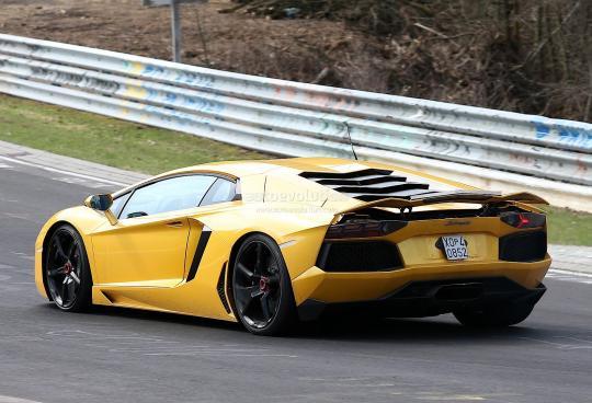 photos videos - Lamborghini Aventador 2015 Black